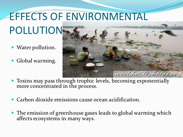 pollution will kill humanity With global warming and climate change affecting the world's environment, how long will it be before humans have nowhere left to live.