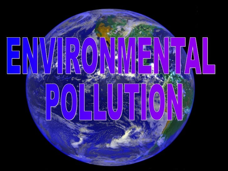 Simple essay about environmental pollution