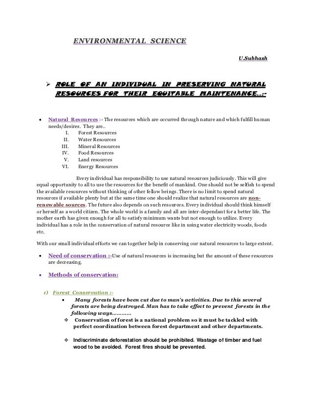 Environmental  science project by u.subhash (1)