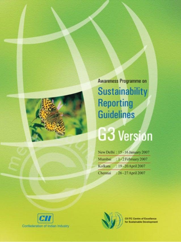 Environment brochure design