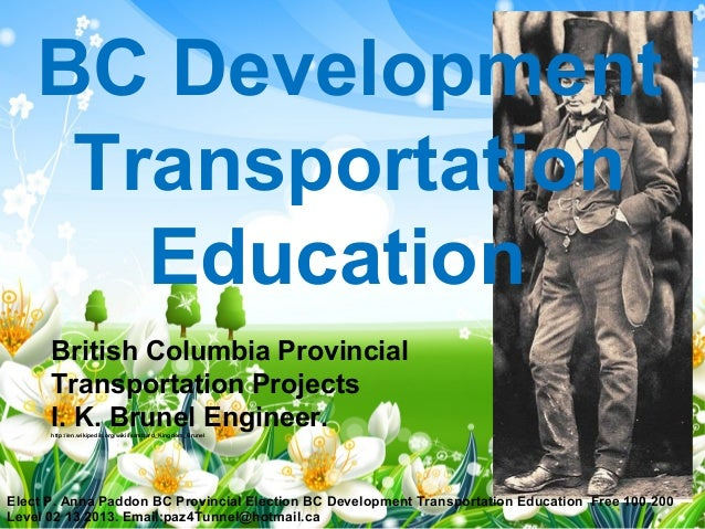 BC Development     Transportation       Education      British Columbia Provincial      Transportation Projects      I. K....