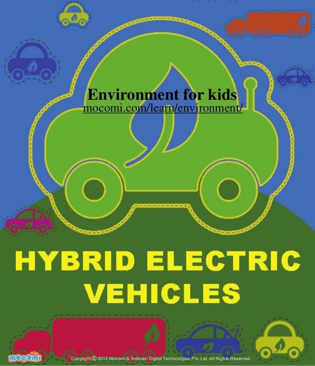 Hybrid Electric Vehicles – Mocomi.com