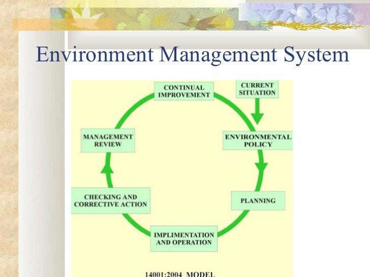Environmental Natural Resources Management