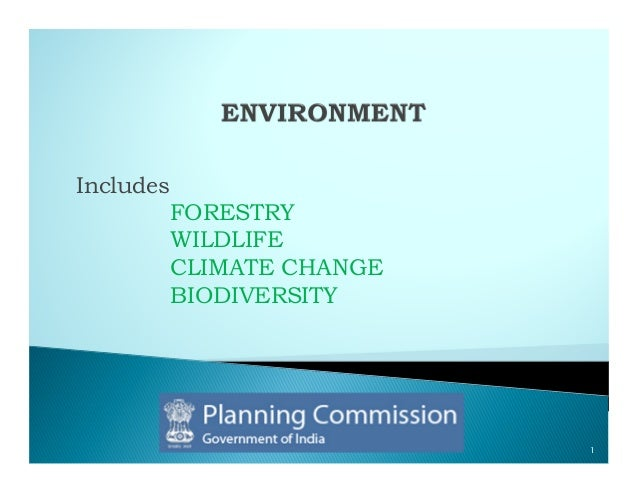 Includes           FORESTRY           WILDLIFE           CLIMATE CHANGE           BIODIVERSITY                            1