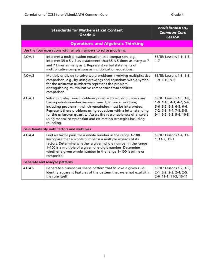 Envision Math Texas Grade 3 Answers 4th grade envision math book – Envision Math Grade 2 Worksheets