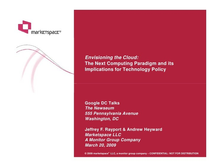 Envisioning the cloud_presentation deck