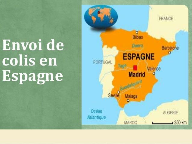 Envoi de colis en Espagne
