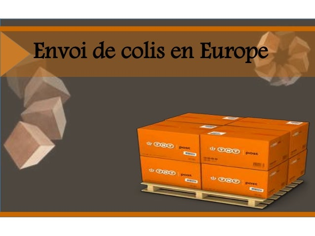 Envoi de colis en Europe