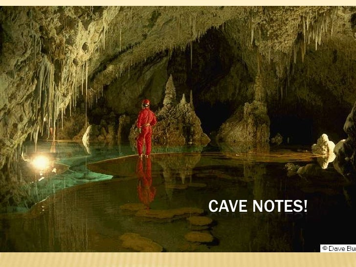 Cave Notes!<br />