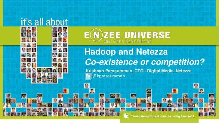 Hadoop and Netezza - Co-existence or Competition?