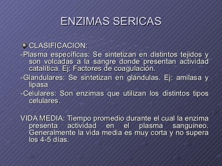 Enzimas Séricas 2012