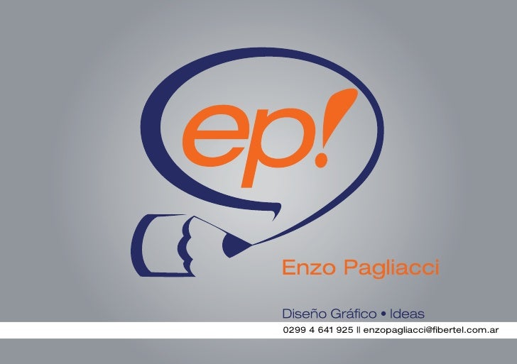 0299 4 641 925    enzopagliacci@fibertel.com.ar