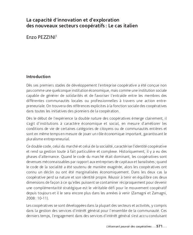38-Pezzini_Mise en page 1 12-09-05 14:44 Page571                 La capacité d'innovation et d'exploration                ...