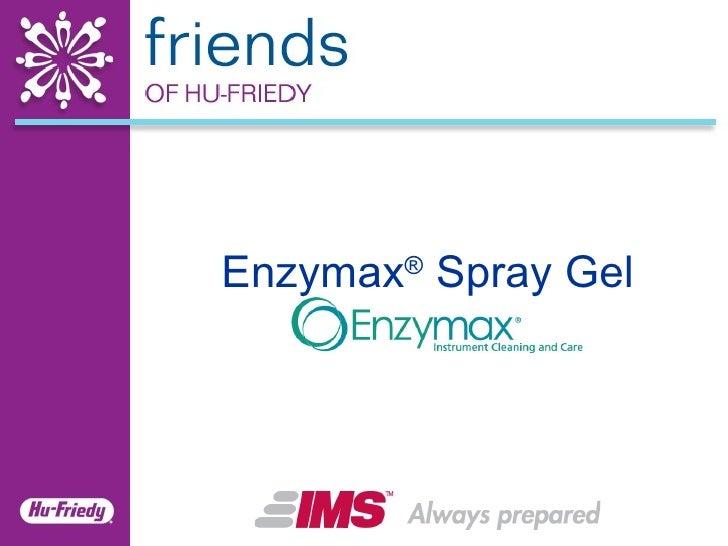 Enzymax ®  Spray Gel