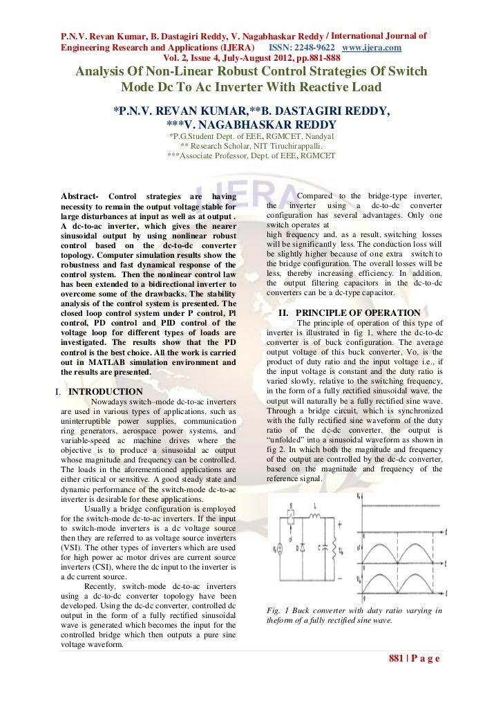 P.N.V. Revan Kumar, B. Dastagiri Reddy, V. Nagabhaskar Reddy / International Journal ofEngineering Research and Applicatio...