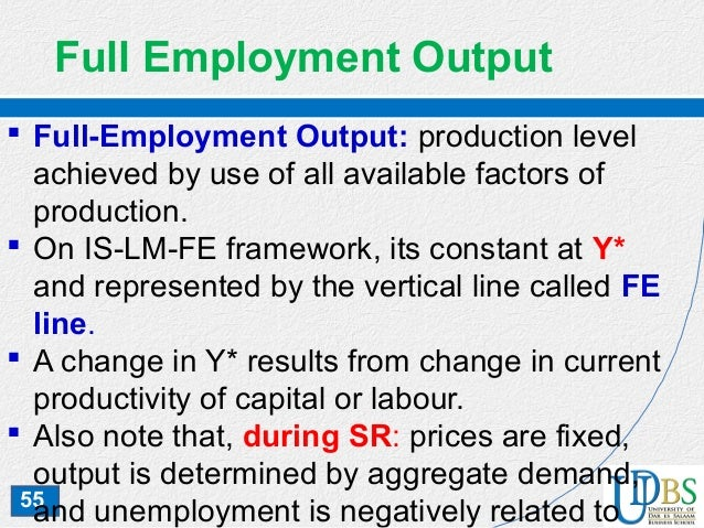 The full-employment rate of unemployment is also called the: