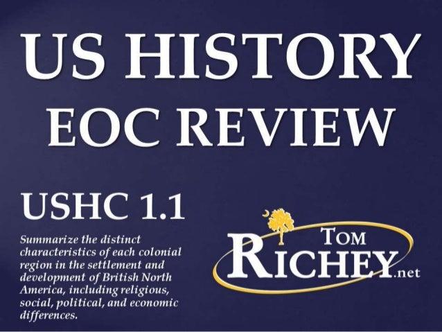 Colonial America (USHC 1.1)