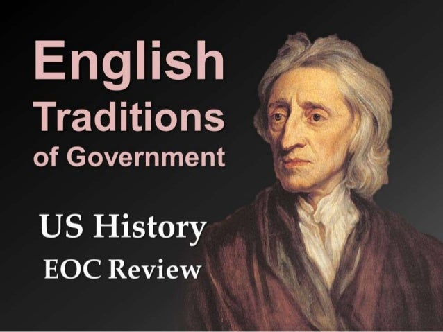 English Origins of American Government