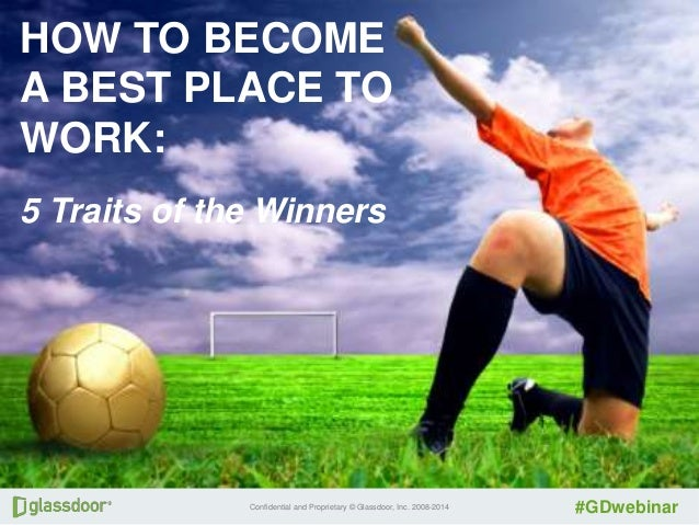 How to Become a Best Place to Work