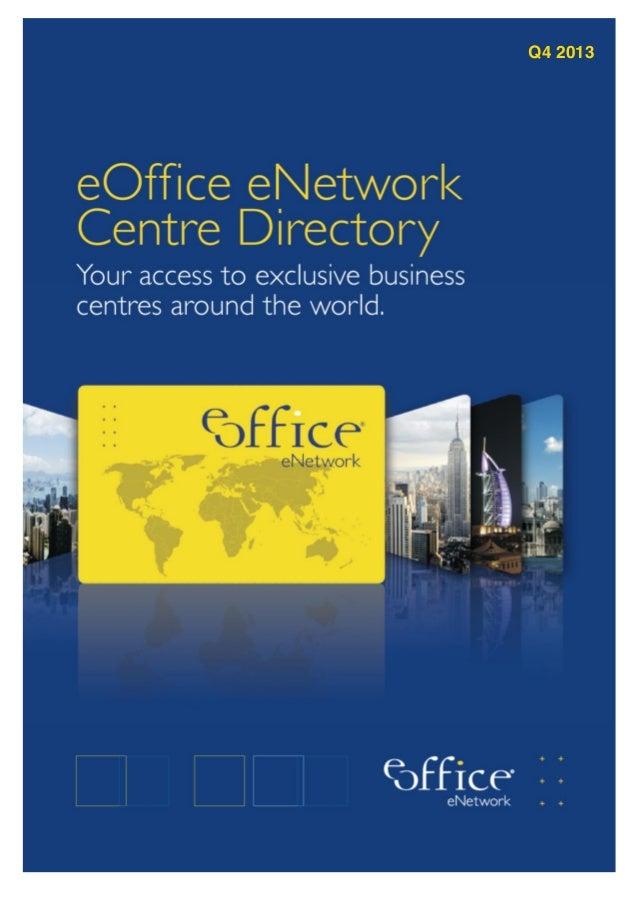 Eoffice eNetwork Directory 2013