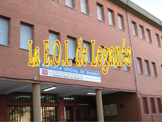 Leganés is quite a big town in the south of Madrid