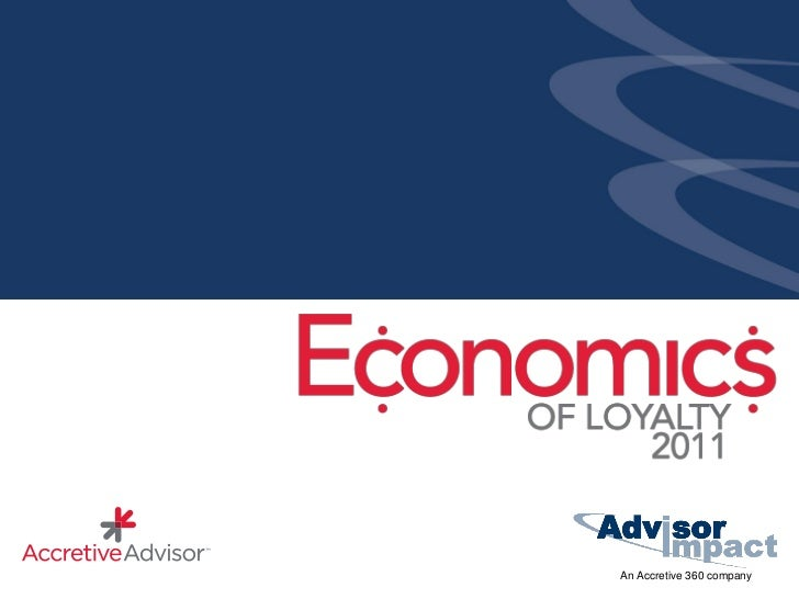 Economics of Loyalty - Summary of Findings (Canada)
