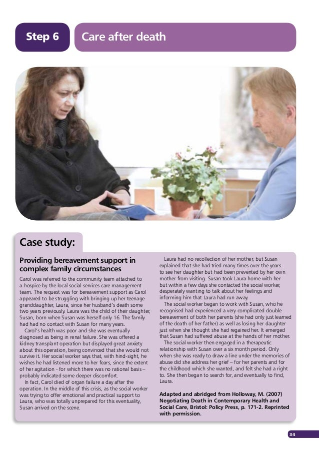 family case study social work In the pruett case, the social worker recommended finding a healthy father figure for the client, to strengthen the missing component of the family system networking and referrals a critical part of any social worker's job is.