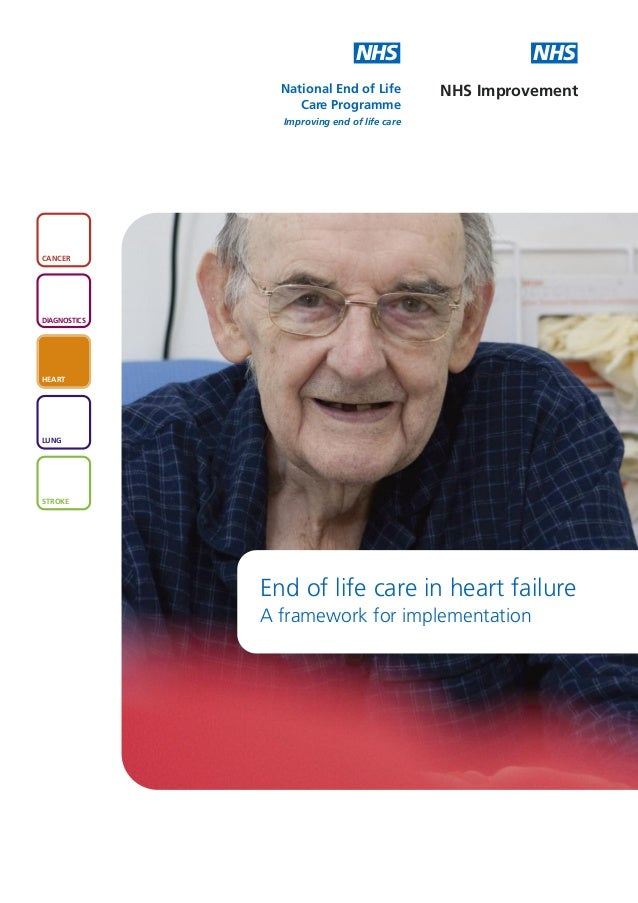 End of life care in heart failure - a framework for implementation