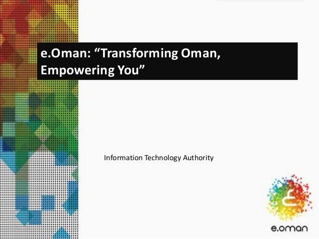 eOman English presentation 2013