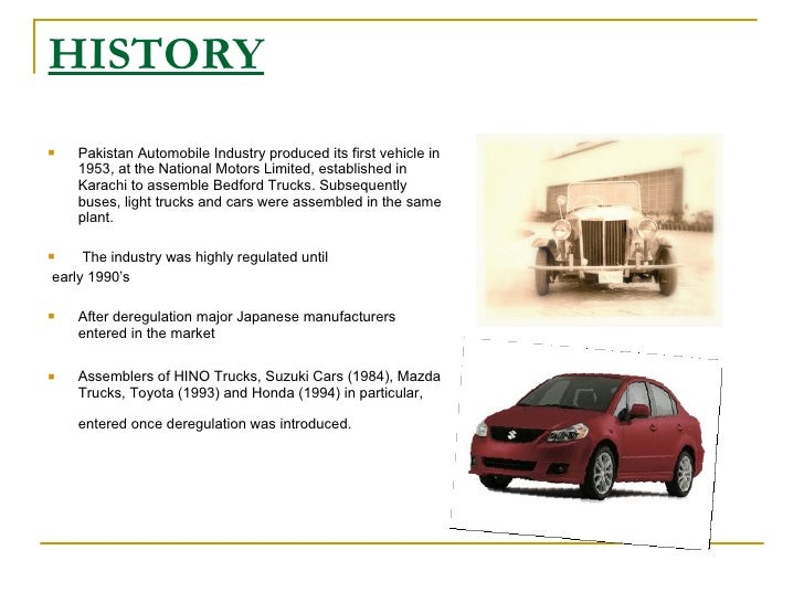 the automobile industry essay