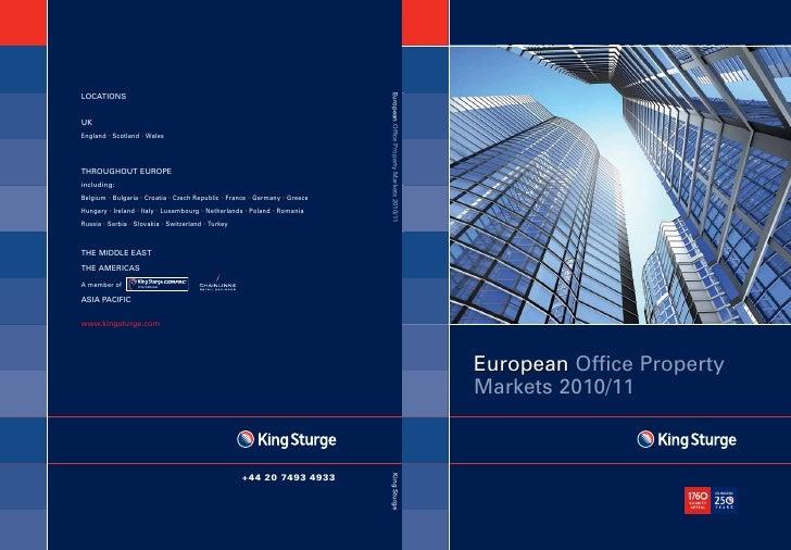 European Property office market 2010/11