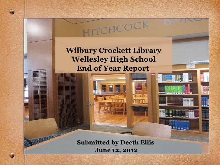 Thesis Submission Wellesley