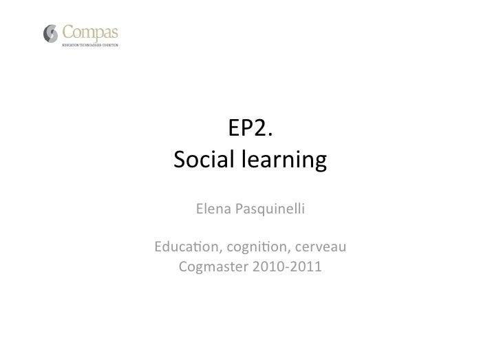 Cogmaster 2011_Ep2bis