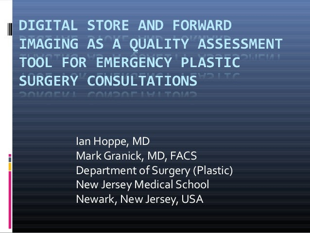 Ian Hoppe, MDMark Granick, MD, FACSDepartment of Surgery (Plastic)New Jersey Medical SchoolNewark, New Jersey, USA