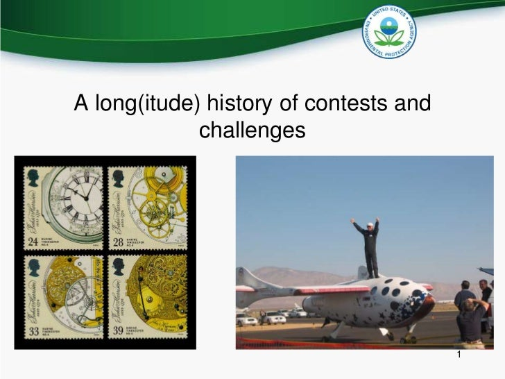 A long(itude) history of contests and challenges <br />1<br />