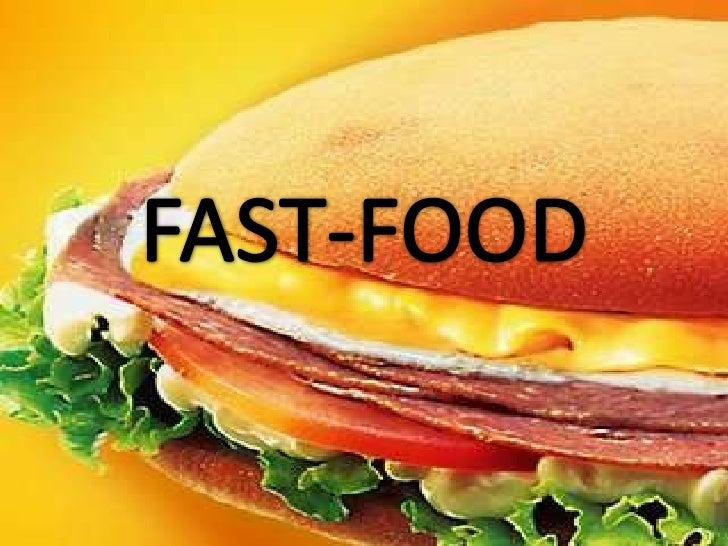 """Definição de Fast Food           Fast Food significa """"comida rápida"""", ou seja, refeições que podem ser    rapidamente conf..."""