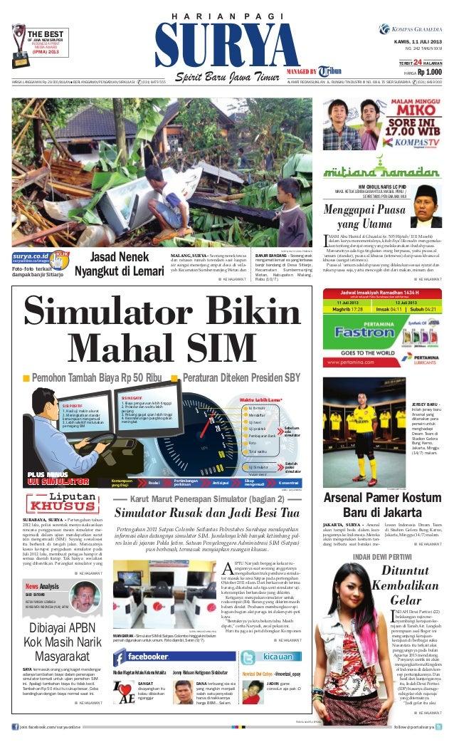 Epaper surya 11 juli 2013 ok