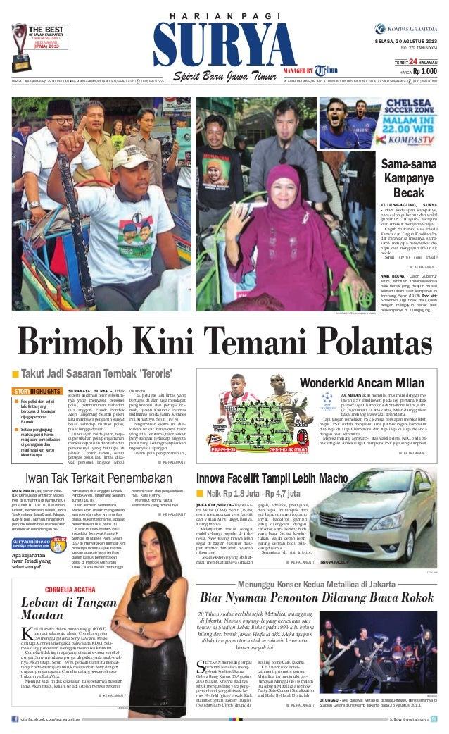 Epaper surya 20 agustus 2013