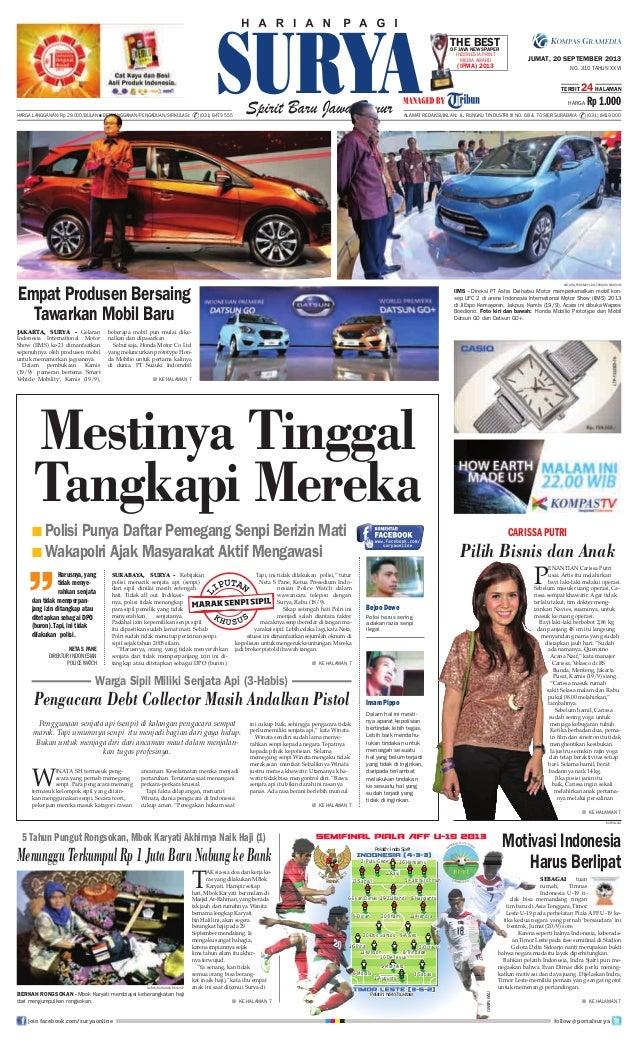 Epaper Surya 20 September 2013