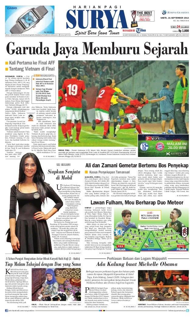 Epaper Surya 21 September 2013