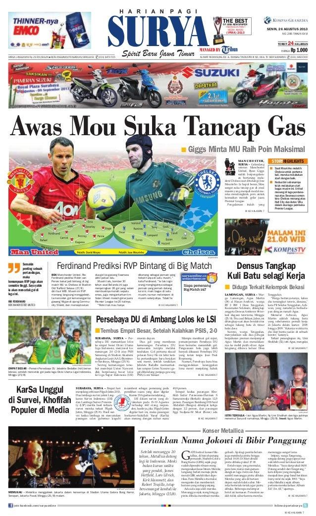 Epaper Surya 26 Agustus 2013