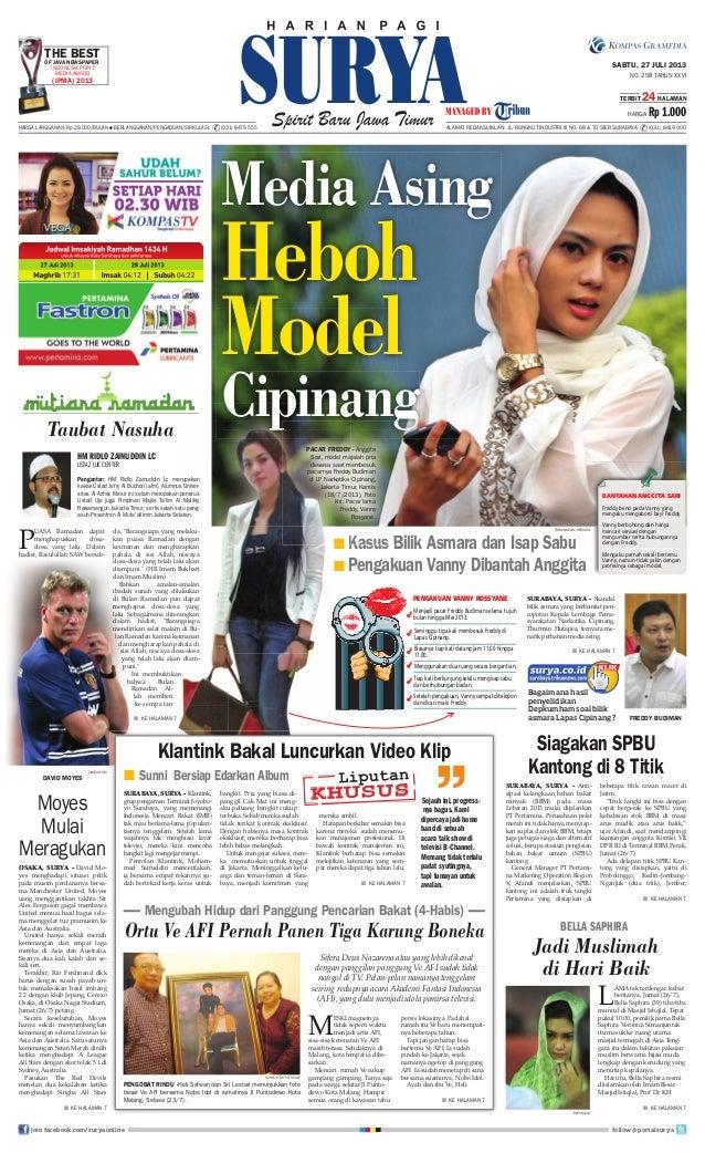 Epaper Surya 27 Juli 2013