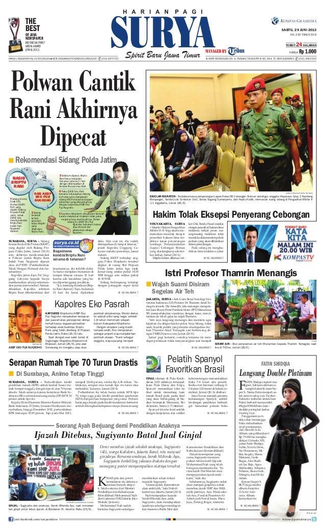 Epaper surya 29 juni 2013