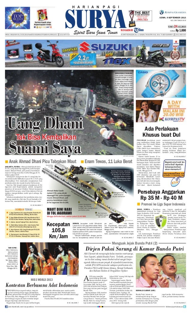 Epaper Surya 9 September 2013