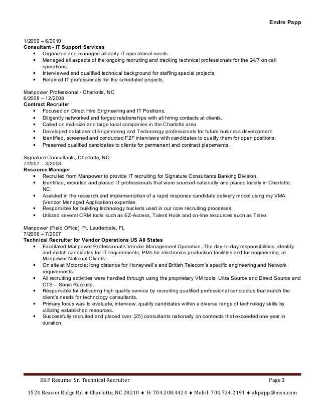 endre papp resume