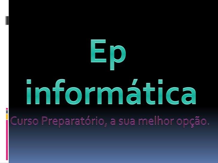 Ep apresentação