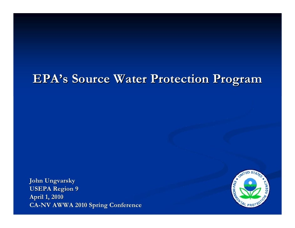 EPA\'s Source Water Protection Program