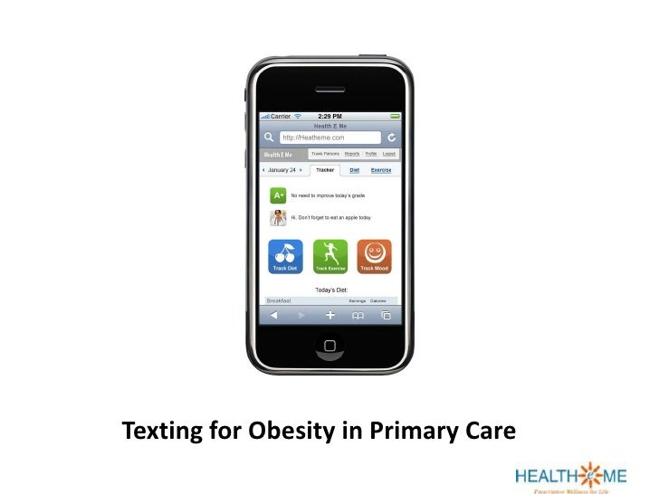 Texting for Obesity in Primary Care<br />