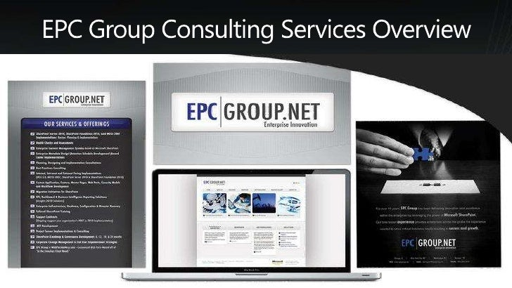 EPC Group Consulting Services Overview<br />