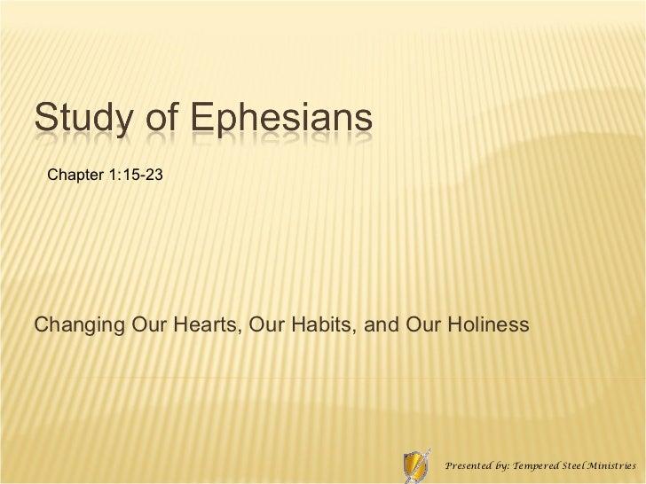 Ephesians 1 15 23